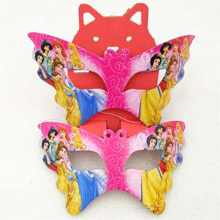 DISNEY PRINCESSES Party Masks (Pack of 10)