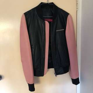 Superdry Genuine Leather Bomber Jacket
