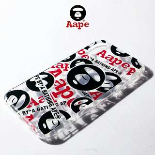 AAPE透明iPhone Case