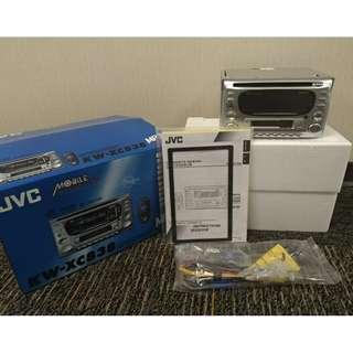 JVC 汽車音響 CD/MP3/卡帶/AUX 主機