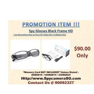 Spy glasses Camera HD