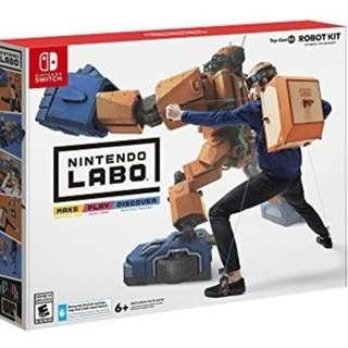 Pre-Order Nintendo Labo - Robot Kit