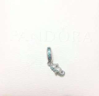 Tropical Seahorse charm
