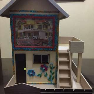 Mini House Coin Bank (Alkansya)
