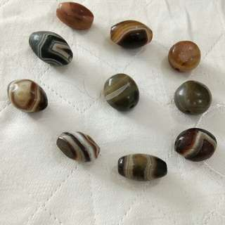 Pure Tibetan old beads, individual pcs for sale