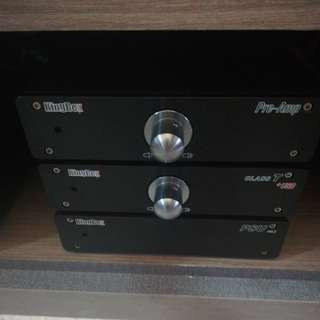 Kingrex Complete Power Amp system