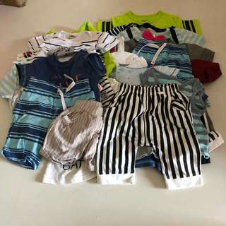 $29 for 29 pcs❗️to sell all at one go. No choosing. Suit boys of age 1.5 to 3.5 yrs old i would say (as that is the age of my 2 boys) mostly tshirts and shorts... with a few sibling sets... self collect at my plc sengkang