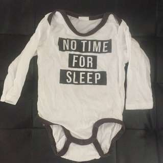 H&M : Quarter Sleeves Baby Romper 6-9 Months