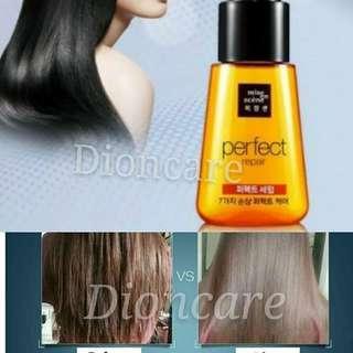 Smoothen silky hair serum