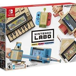 Nintendo Labo - Variety Kit