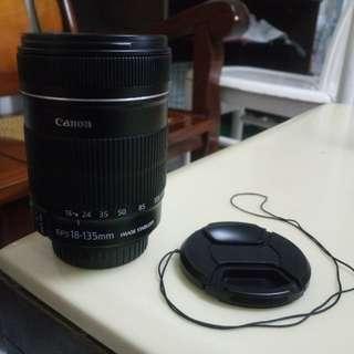 Canon EOS Lens 18-135Mm