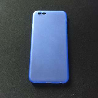 Blue Matte Ultra Thin Case for iPhone 6/6s