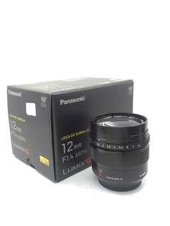 Leica DG Summilux 12mm F1.4 ASPH