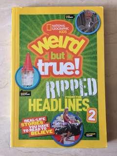 """National Geographic KIDS """"Weird but True 2"""""""