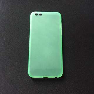 Light Green Matte Ultra Thin Case for iPhone 6/6s