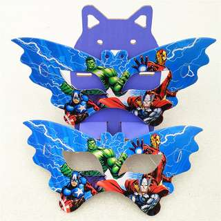 AVENGERS Party Masks (Pack of 10)