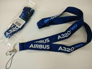 空中巴士 A320neo 證件頸繩Airbus A320neo landyard