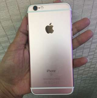 Iphone 6s 64gb rosegold secod