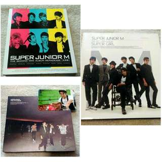 Super Junior PRELOVED Albums