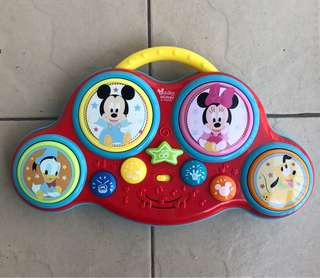 Disney baby drum toy