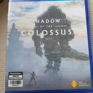 Shadow of the colossus ps4 (free Delivery)