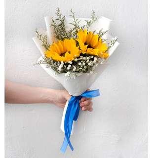 Flower Bouquet: Radiant Sun