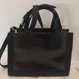 Jelly Bunny Black Sling Bag