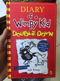 Diary Of A Wimpy Kid double down