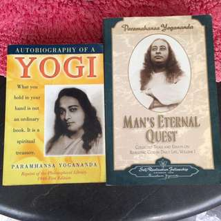PARAMAHANSA YOGANANDA BOOKS FOR SALE!!!