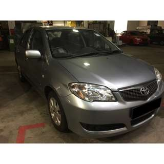 16/03-19/03/2018 TOYOTA VIOS ONLY $180.00 ( P PLATE WELCOME)
