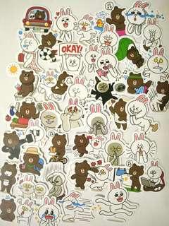LINE Brown sticker pack