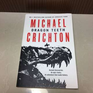 Dragon Teeth by Michael Crichton Storybook