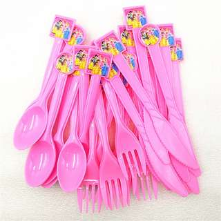 DISNEY PRINCESSES Disposable Utensils (Pack of 10)
