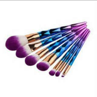 7pcs unicorn brush