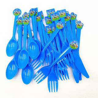 PAW PATROL Disposable Utensils (Pack of 10)