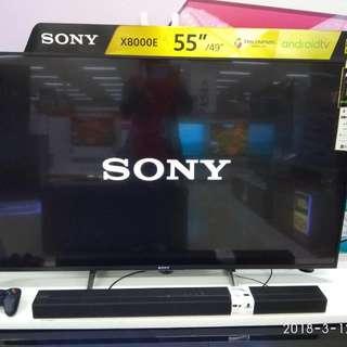 Sony KD-55X800E Cukup Dp Tanpa Kartu Kredit Free 1X Cicilan
