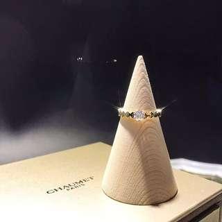 戀愛中的小蜜蜂🐝Bee My Love💍宋慧喬同款戒指婚戒💎30分鑽石18k金戒指🎁情人節紀念品結婚週年禮物