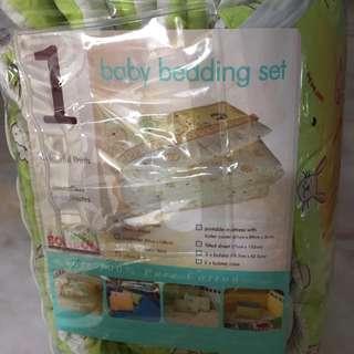 Baby Bedding Set- Full Length Bumper