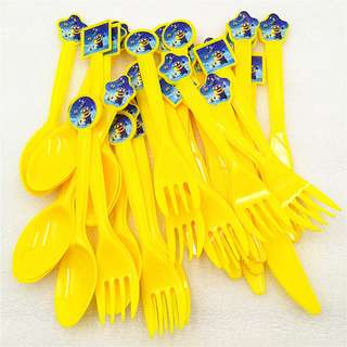 MINIONS Disposable Utensils (Pack of 10)