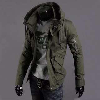 軍裝加厚外套