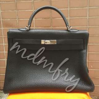 Hermes Kelly Retourne Black preloved