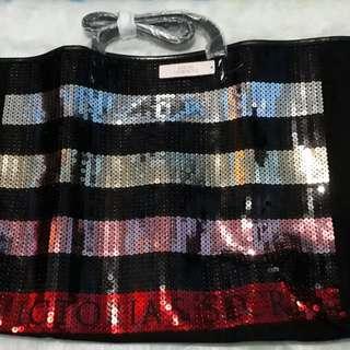 Brand new Victoria's Secret Tote bag Sequin 2017 Limited Edition