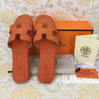 Brandnew! Authentic Hermes Slippers (size: 40)
