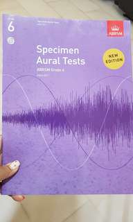 Grade 6 Specimen Aural Tests