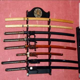 Customized katanas