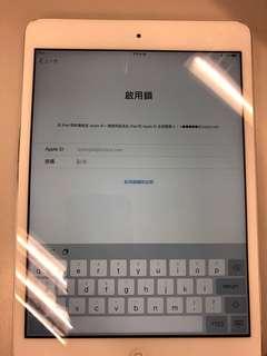 ipad mini2 wifi 16gb 有icloud鎖