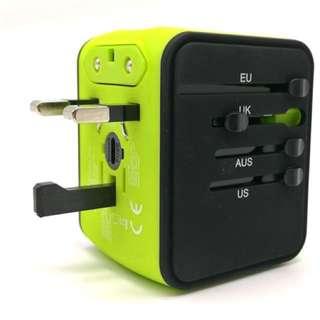 多國使用USB插頭