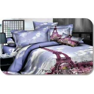 Shyra 5D - Sprei King Paris