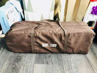 Portable/travel baby cot, lovencare