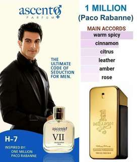 FOR HOMME inspired by 1 million paco rabanne